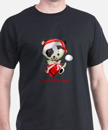 Christmas Santa Dog T-Shirt