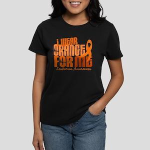 I Wear Orange 6.4 Leukemia Women's Dark T-Shirt