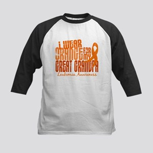 I Wear Orange 6.4 Leukemia Kids Baseball Jersey