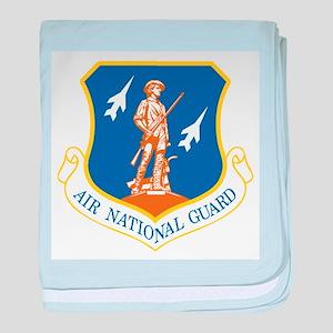 Air National Guard baby blanket