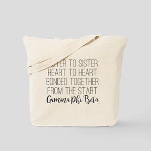 Gamma Phi Beta Sister Tote Bag