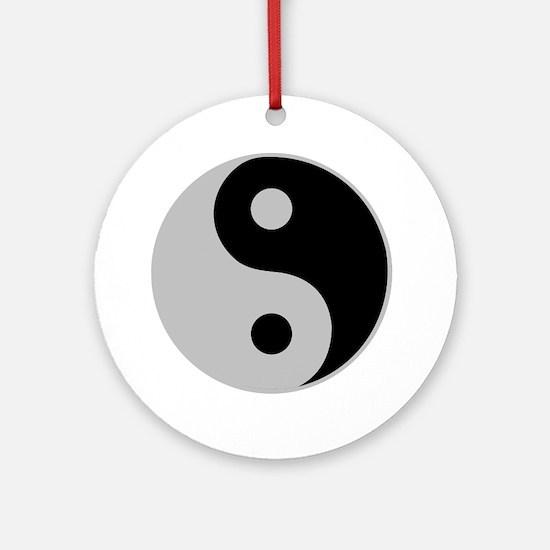 Yin Yang Ornament (Round)