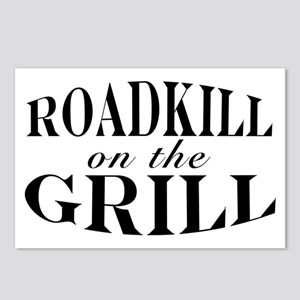 Roadkill on the Grill BBQ Postcards (Package of 8)