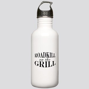 Roadkill on the Grill BBQ Stainless Water Bottle 1