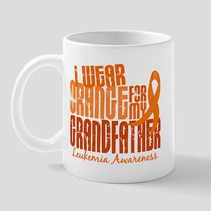 I Wear Orange 6.4 Leukemia Mug