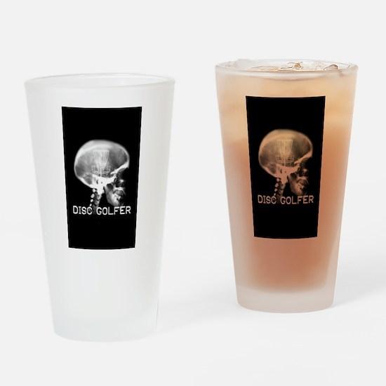 Disc Golf Pint Drinking Glass