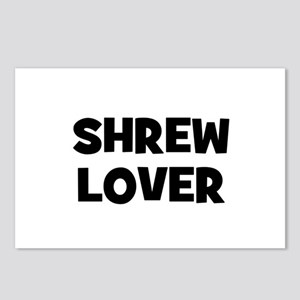 Shrew Lover Postcards (Package of 8)