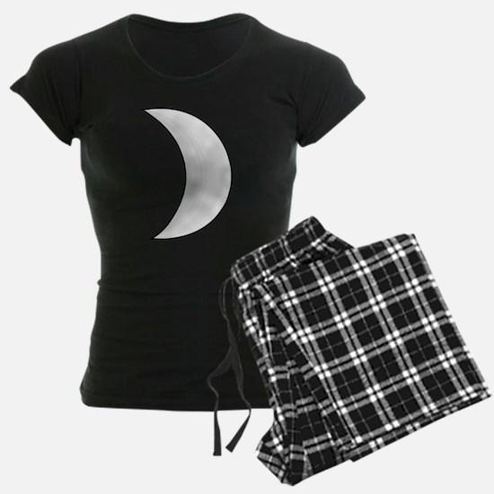 Silver Moon Crescent Pajamas