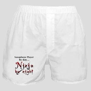 Saxophone Ninja Boxer Shorts
