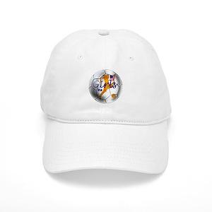 f354dd8fbf8 Girls Soccer Hats - CafePress
