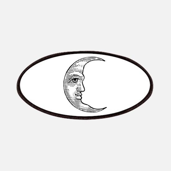 Vintage Crescent Moon Patches