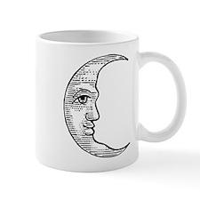 Vintage Crescent Moon Mug