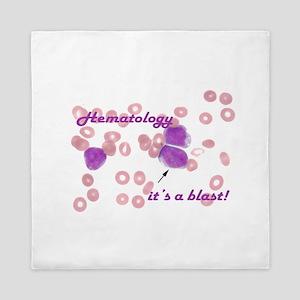 Hematology, it's a blast! Queen Duvet