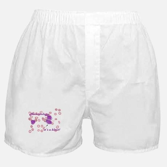 Hematology, it's a blast! Boxer Shorts