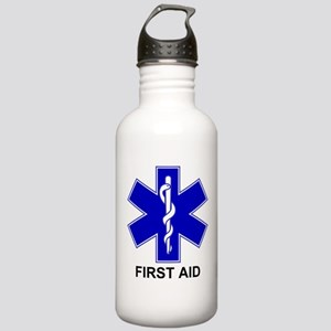 BSL - First Aid Stainless Water Bottle 1.0L