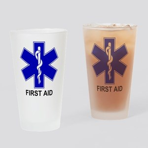 BSL - First Aid Pint Glass