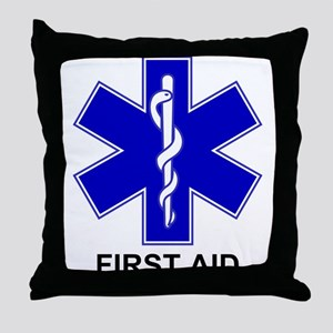 BSL - First Aid Throw Pillow