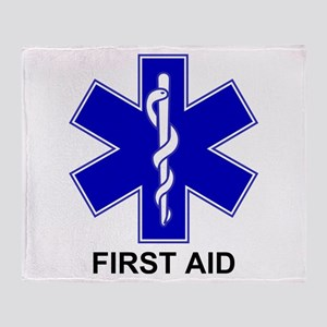 BSL - First Aid Throw Blanket