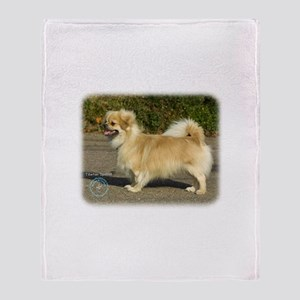 Tibetan Spaniel 9B040D-05 Throw Blanket