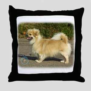 Tibetan Spaniel 9B040D-05 Throw Pillow