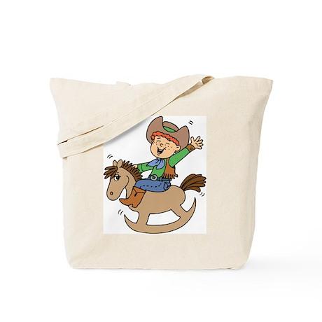 Ride'em Cowboy Tote Bag