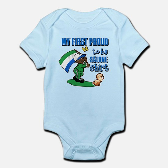 First Proud To Be Sierra leonean Kids design Infan