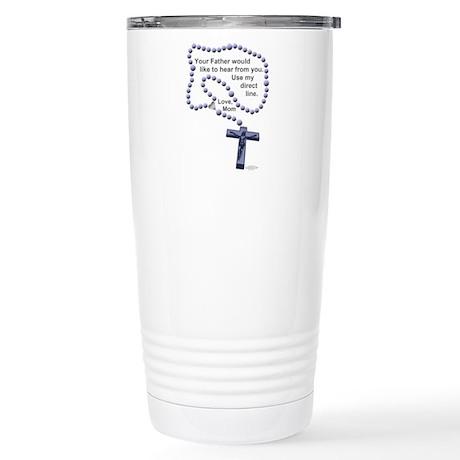 Love Mom - Stainless Steel Travel Mug