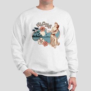 Aloha Hula Girl Sweatshirt