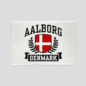 Aalborg Denmark Rectangle Magnet