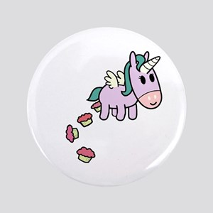 "Unicorn Sweets 3.5"" Button"