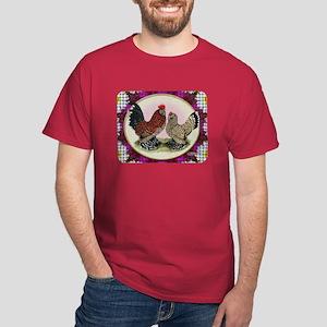 Mille Fleur Crosshatch Dark T-Shirt