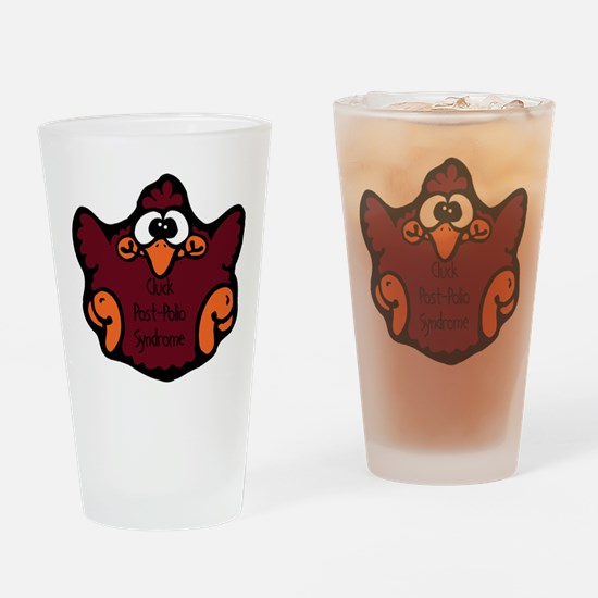 Post-Polio Syndrome Pint Glass