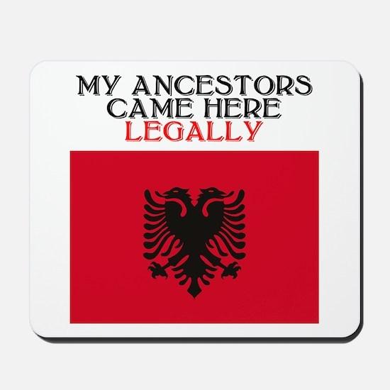 Albanian Heritage Mousepad