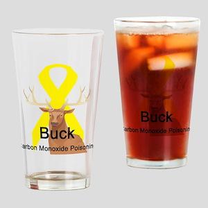 Carbon Monoxide Poisoning Pint Glass