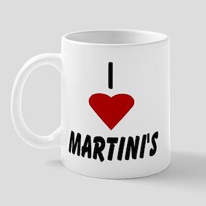 I Heart Martini's Mug