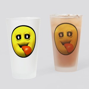 Window Licker Face Pint Glass