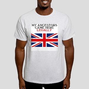 British Heritage Ash Grey T-Shirt