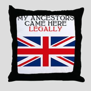 British Heritage Throw Pillow