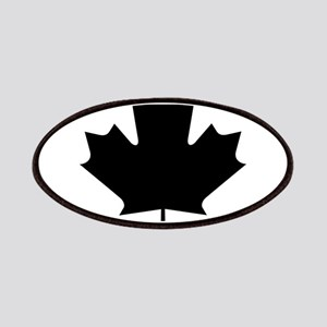 Black Maple Leaf Patches