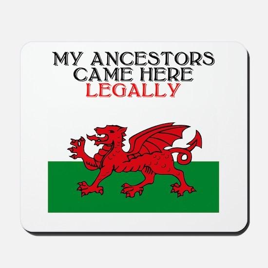 Welsh Heritage Mousepad