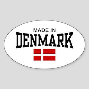 Made In Denmark Sticker (Oval)