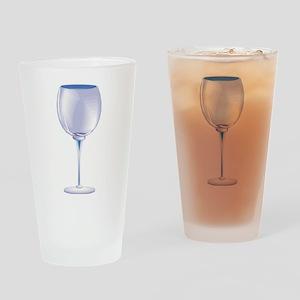 WINE GLASS Pint Glass