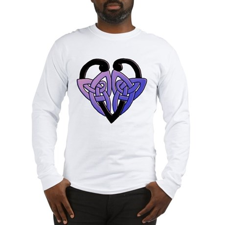 celtic heart 10 Long Sleeve T-Shirt
