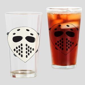 Goalie Mask Pint Glass