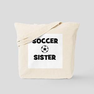 Soccer Sister Tote Bag
