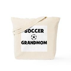 Soccer Grandmom Tote Bag