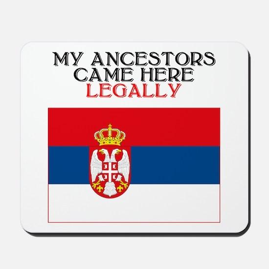 Serbian Heritage Mousepad