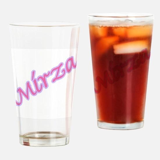 MIRZA Pint Glass