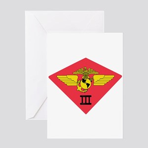 3rd Marine Air Wing Greeting Card