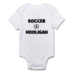 Soccer Hooligan Infant Creeper